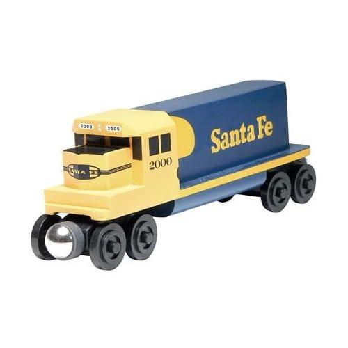 Amazon.com: Whittle Shortline Railroad - Santa Fe Blue