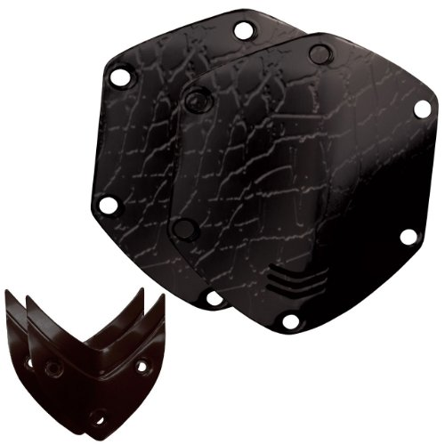 V-Moda Crossfade Over-Ear Headphone Metal Shield Kit (Croc Black)