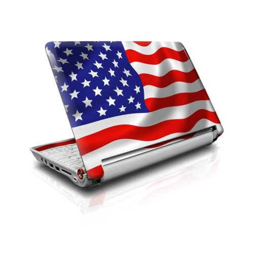 USA Flag Design Skin Cover Decal Sticker for the Acer Aspire ONE 11.6 AO751H Netbook Laptop