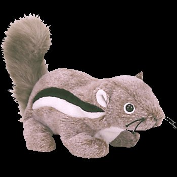 TY Beanie Baby - CHIPPER the Chipmunk - 1