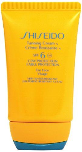 Shiseido - Crema protettiva abbronzante viso SPF 6, 50 ml