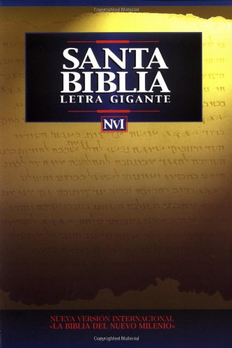 NVI Santa Biblia Letra Gigante Rústica