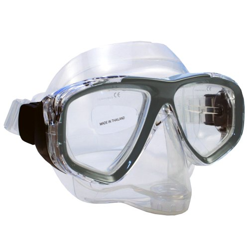 Promate Pro Viewer Purge Mask (Clear, Titanium )