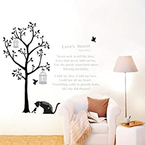 Animal Lion Giraffe Monkey Wall Stickers With Decor Decal Art For Kids Nursery Bedroom by The end