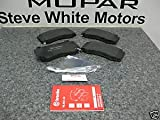 Dodge Charger SRT 8 FRONT Brembo Disc Brake Pads Mopar