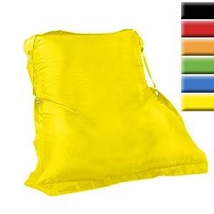 Sitzsack in XXL 200x140cm Indoor (Farbwahl) inkl. Gurte & Füllung