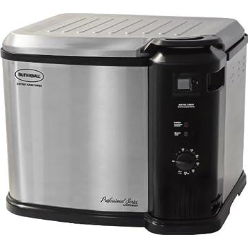 Masterbuilt Butterball Indoor Gen III Electric Fryer Cooker 2013 Model (23011114, Extra Large)
