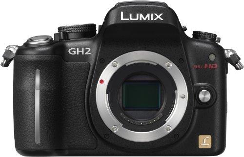 Panasonic デジタル一眼カメラ ルミックス GH2 ボディ 1605万画素 ブラック DMC-GH2-K