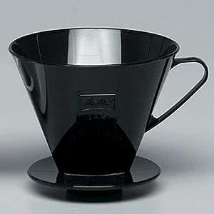 Melitta Coffee Filter Cone Size 4 filter (Black)