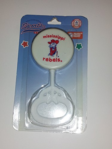 Mississippi Rebels NCAA Baby Rattle