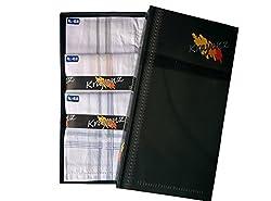 Krayonz 100% Mercerised Cotton Handkerchief Pack of 12 1700