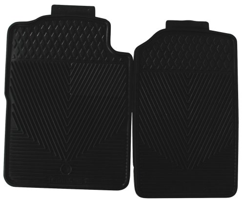Highland 4603800 All-Weather Black Front Seat Floor Mat front-319685