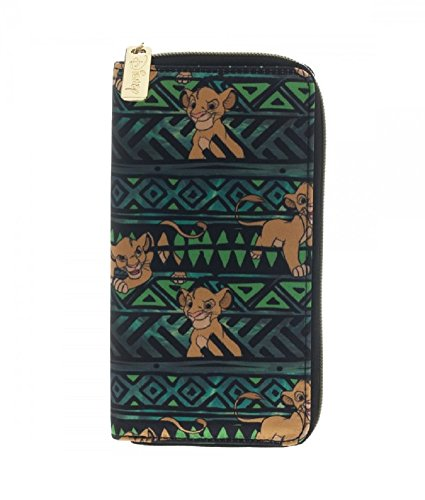 Disney The Lion King Simba Tribal Zip Wallet (The Lion King Merchandise compare prices)