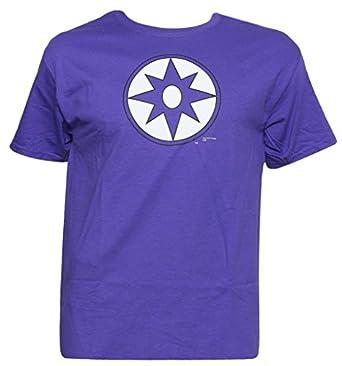 Officially Licensed DC Comics Violet Symbol T-Shirt, S