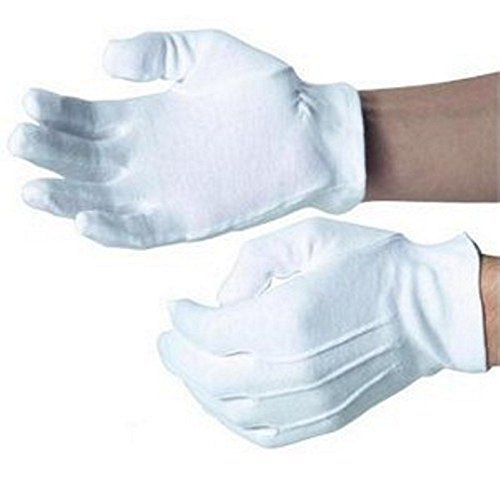 mens-white-cotton-gloves-masonic-military-church-silver-service-size-9-1-2-