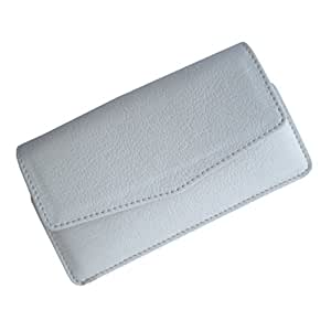 i-KitPit : PU Leather Pouch Case Cover For Samsung Galaxy Win / Galaxy Quattro (WHITE)