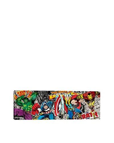 Marvel Comics Gallery Avenger Super Collage Canvas Print As You See