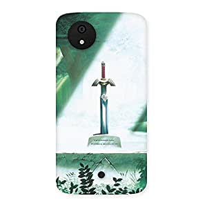 Sword Grave Multicolor Back Case Cover for Micromax Canvas A1