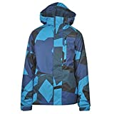 ONeill Kids Boys Newton Ski Jacket Hooded Concealed Zip Fastening Pockets