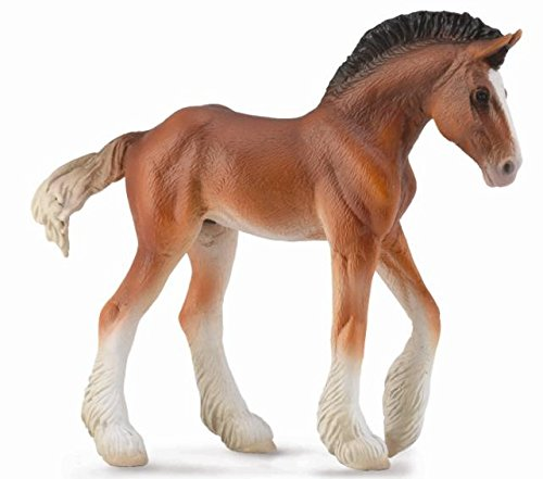 CollectA Clydesdale Foal, Bay