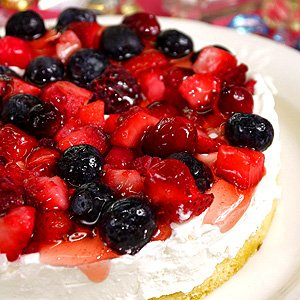 誕生日ケーキ バースデーケーキ ミックスベリーのフルーツケーキ(5号:直径1...