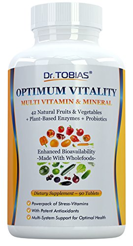 Dr. Tobias Multivitamin & Mineral Plus Enzymes - Enhanced Bioavailability -