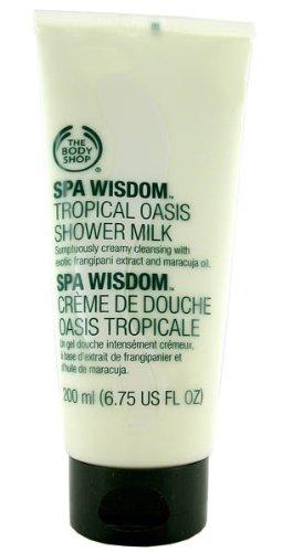 The Body Shop Spa Wisdom Tropical Oasis Shower Milk