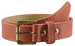 Garvan Women's Light Brown Leather Belt (LBW 17-Light Brown)
