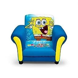Kids, Children, Toddlers Upholstered Fabric Chair (Spongebob Squarepants)