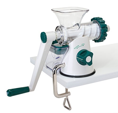 The Original Healthy Juicer (Lexen GP27) - Manual Wheatgrass Juicer - Kale, Spinach, Parsley and any other Leafy Green! Featuring a masticating live-enzyme cold press process! (Wheat Cutting Machine compare prices)