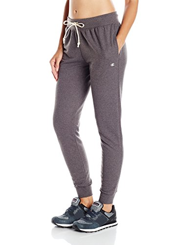 Champion Women's French Terry Jogger, Granite Heather, X-Large