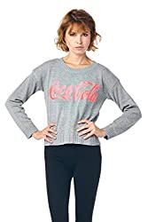 [The Classic Brand] Grey Official Coca Cola Knit Sweater Small