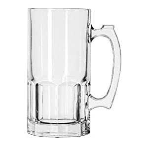 Libbey Super Beer Mug, 1 Liter (5262LIB) Category: Beer Mugs and Glasses