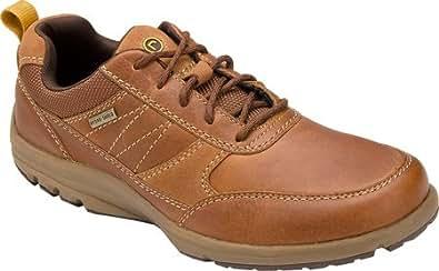 Rockport Men's Adventure Ready Mudguard WP,Tan Full Grain Leather,US 6.5 W