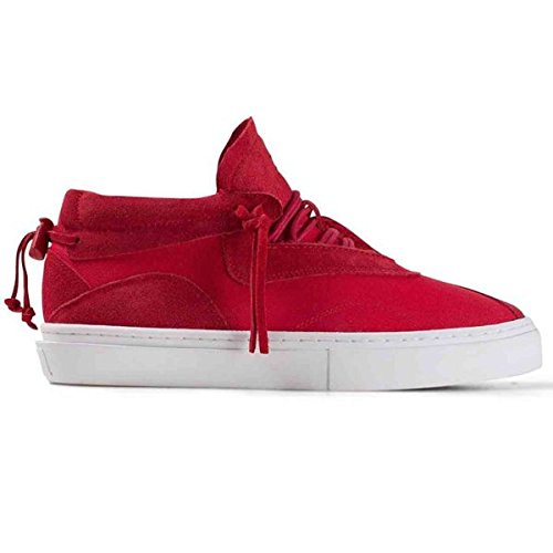 Clear Weather Everest Midtop Sneaker in Red