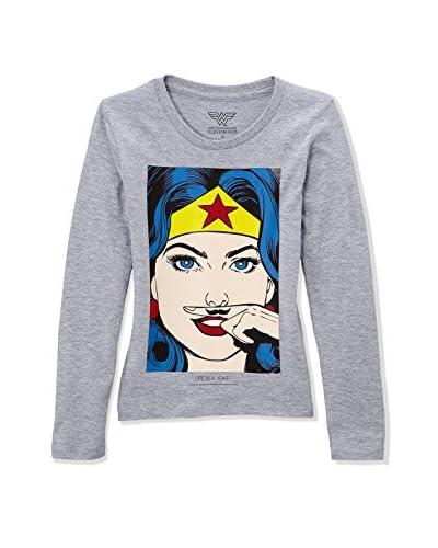 Eleven Paris Camiseta Manga Larga WONDER LS Gris