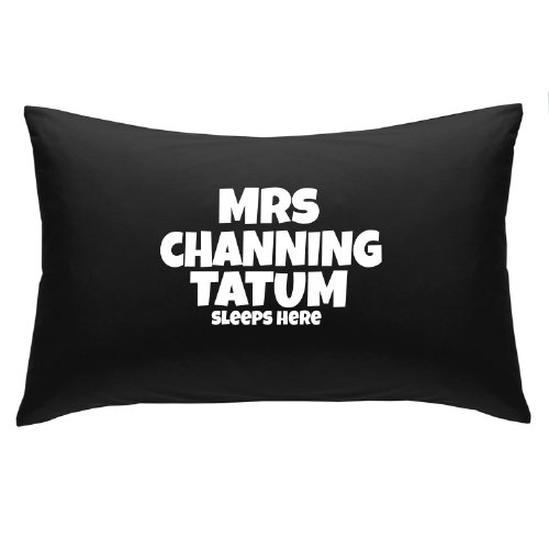 Kissen, Motiv: Mrs Channing Tatum Sleeps Here