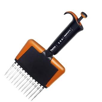Thermo Scientific 2205690 Finnpipette BioControl Multi Channels Tip Cone Module Multichannel Pipettor, 12 Channels, 50-300 microliter