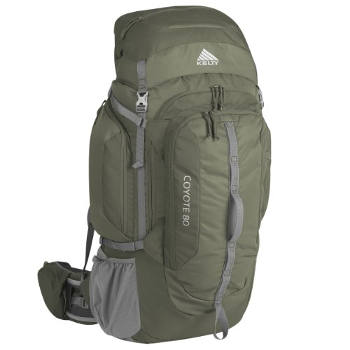 Kelty Coyote 80 Internal frame Backpack, Forest Night, Medium/Large