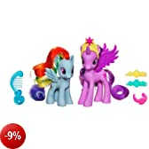 My Little Pony Two Pack - Princess Twilight Sparkle and Rainbow Dash