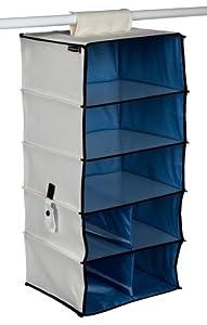 Rubbermaid Configurations Collapsible Modular Shelf Unit, 27 1/2-inch, Natural (FG3F22DWNATUR)