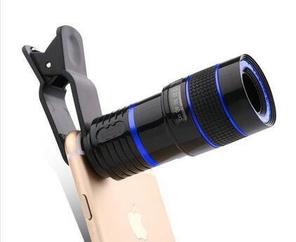 望遠鏡 スマホ 【KuGi】 スマートフォン用望遠鏡 小型 スマホカメラレン...