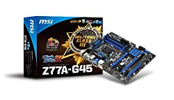 MSI Computer Corp. DDR3 1600 Intel LGA 1155 Motherboards (Z77A-G45)