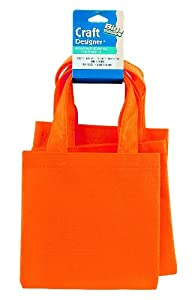 WeGlow International Miniature Tote Bags - Pack Of 12, Orange at Sears.com