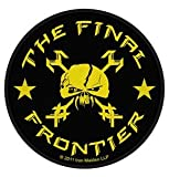 Iron Maiden The Final Frontier Skull Official Circular Patch (10cm)