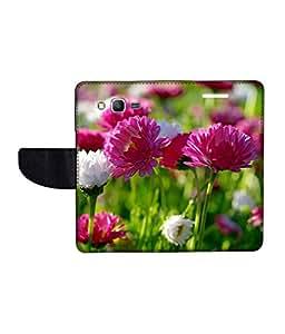 KolorEdge Printed Flip Cover For Samsung Galaxy Grand Prime Multicolor - (50KeMLogo11380SamS530)
