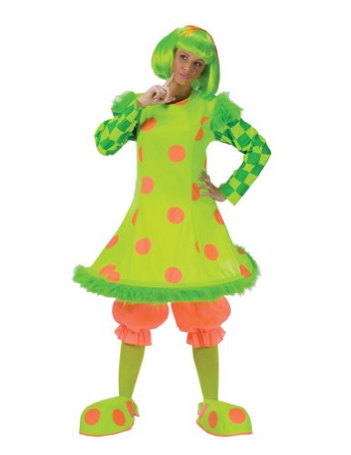 Adult-Costume Clown Lolli Halloween Costume - Most Adults
