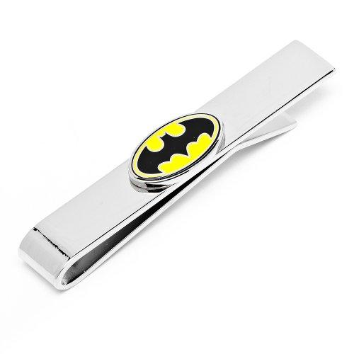 Cufflinks Inc Enamel Oval Batman Logo Tie Bar (DC-OBL-TB)
