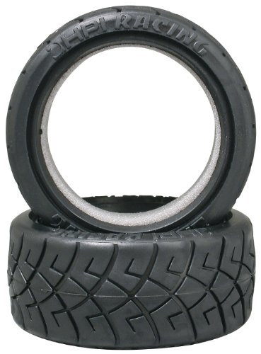 HPI Racing 4790 X Pattern Radial Tire D Compound, 26mm