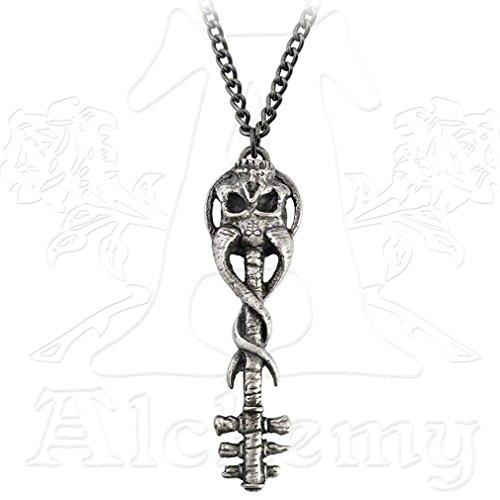 Alchemy Gothic (Metal-Wear) Chiave di Satana all'inferno Per